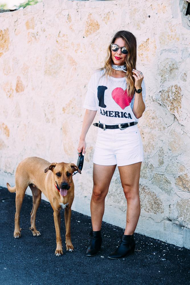 I Heart America Tee
