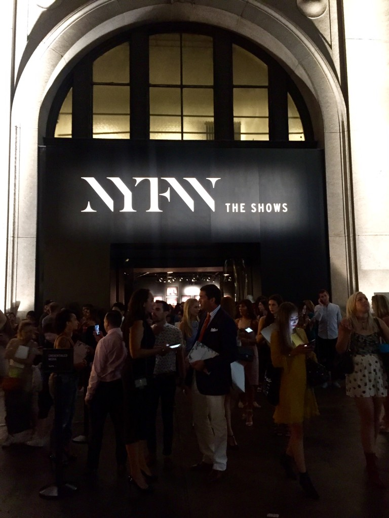 New York Fashion Week Venue 2016
