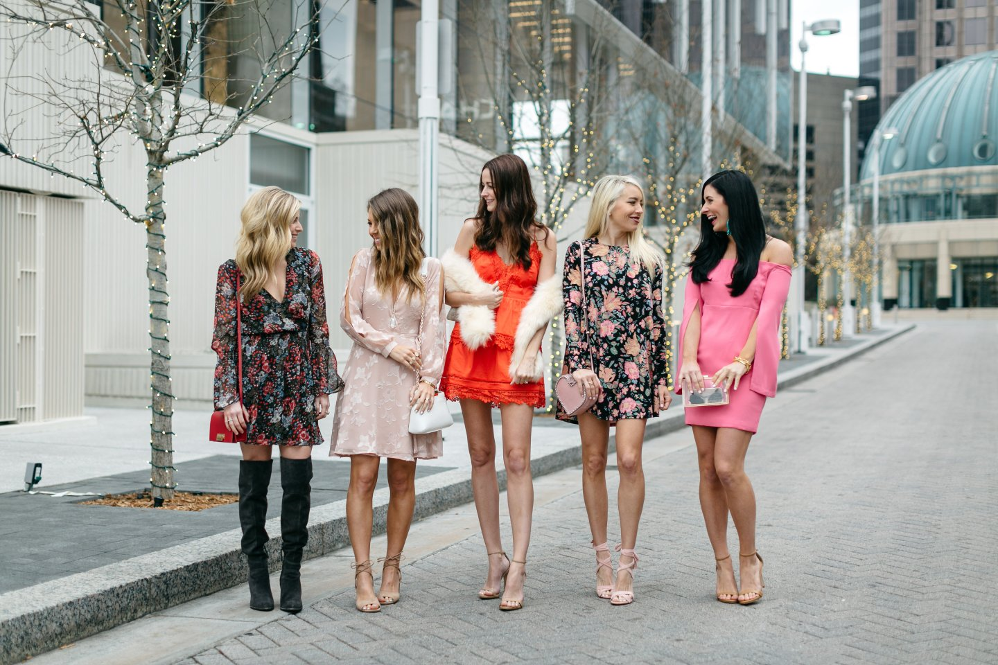 valentine's day dresses on dallas fashion bloggers