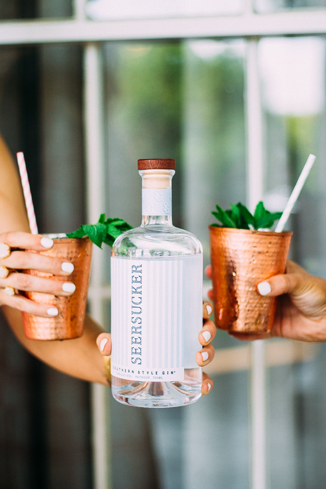 kentucky derby style seersucker gin recipe