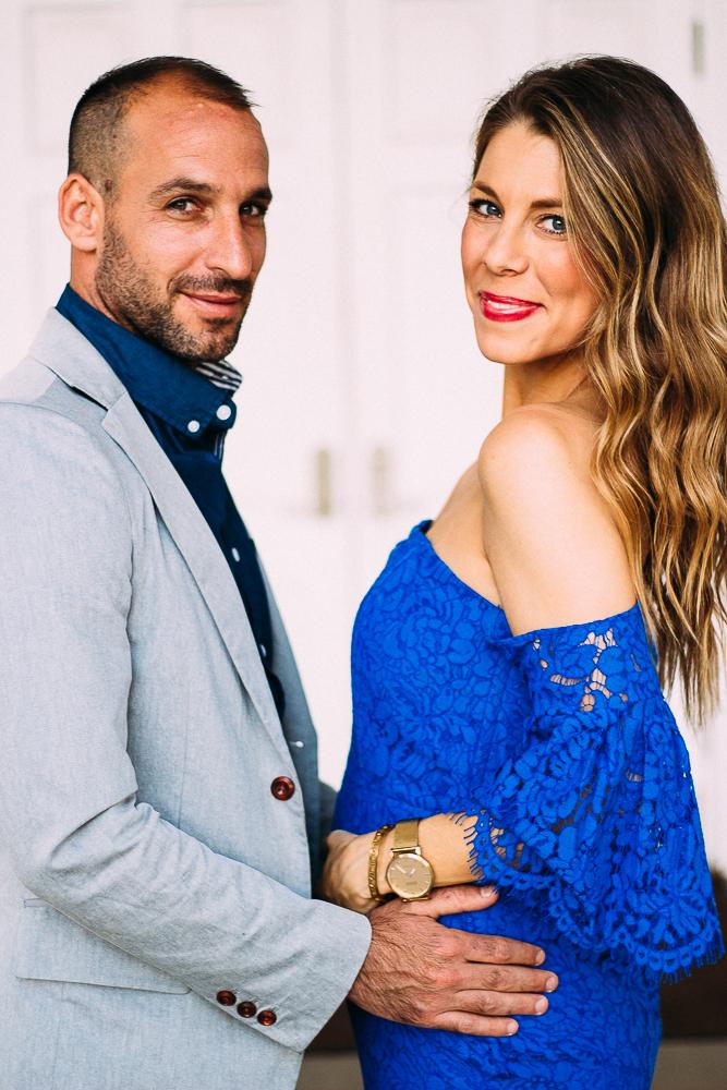 pregnant fashion blogger announcement