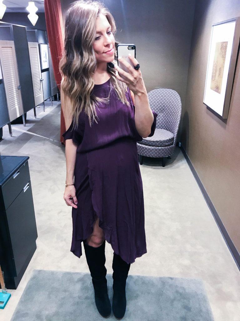plum dress Nordstrom anniversary sale