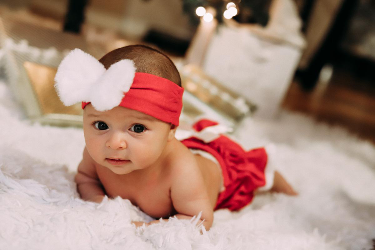 Christmas Baby Photography Idea