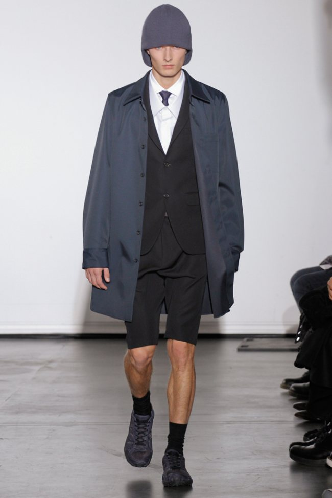 Dior Homme, Fall-Winter 2011 / 2012 in The Paris Fashion Week