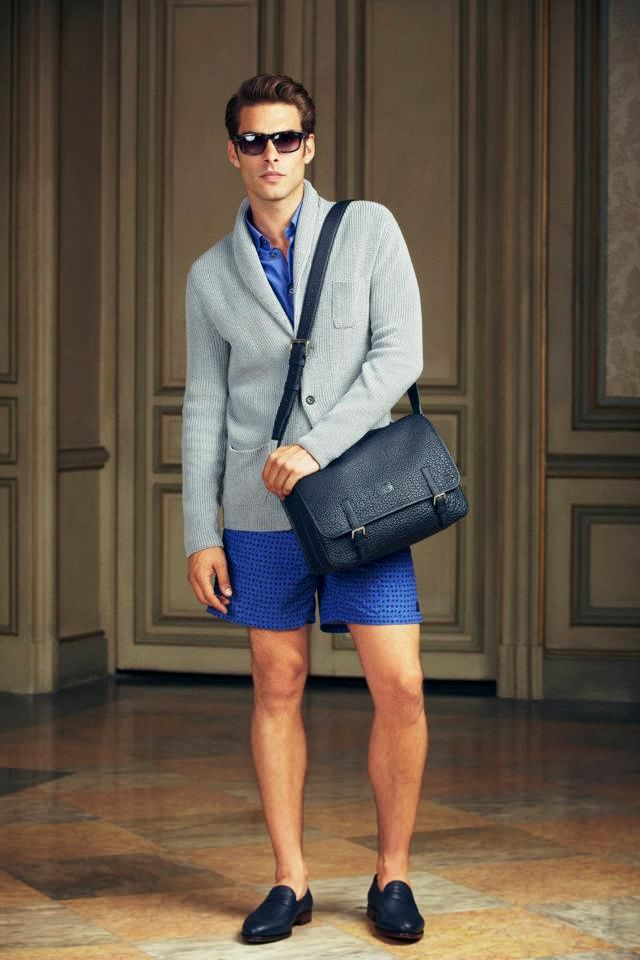 Jon Kortajarena Steps Out for Loewe Spring/Summer 2013 ...