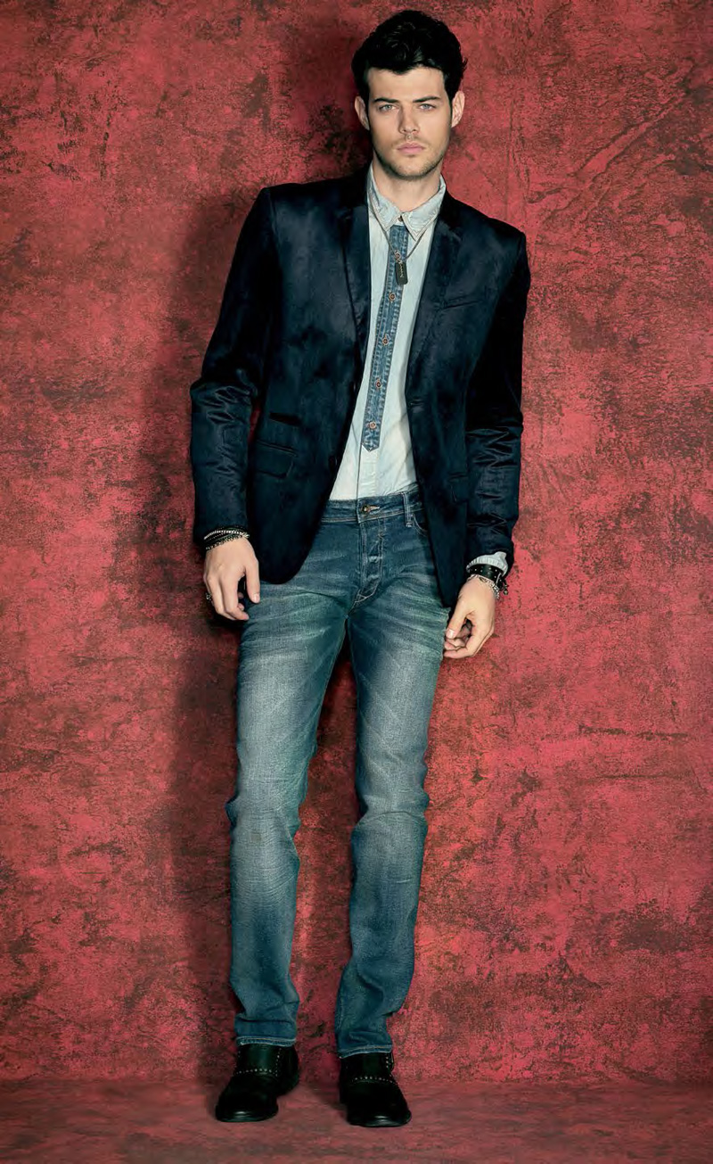 Felix Bujo Rocks Out For Guess Fall 2013 Lookbook The