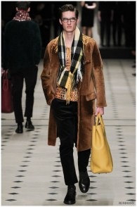 Burberry Prorsum fall-winter 2015 menswear show during London Collections: Men.