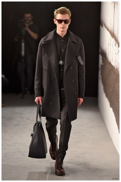 Coach Takes To London Collections Men With Luxe Outerwear
