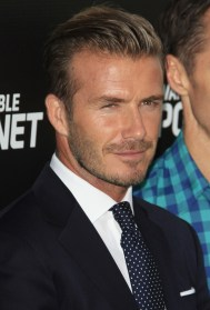 David Beckham Hairstyle Evolution Pictures - David beckham slicked back hairstyle