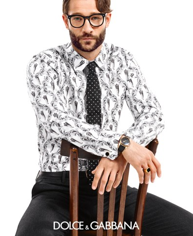 a96469dad6c9 Dolce   Gabbana s Spring Summer 2015 Men s Eyewear Campaign