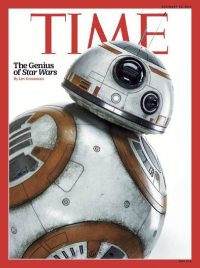 BB-8 covers TIME magazine