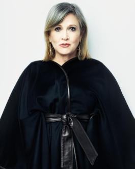 Carrie Fisher photographed for TIME magazine.