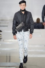 Louis Vuitton channels a Parisian flair for its fall-winter 2016 men's collection.
