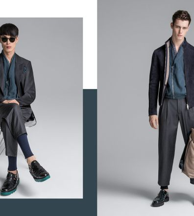 1c992eebc5a6 Emporio Armani Does Soft Tailoring for Spring