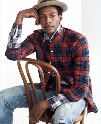 0a8d3fd32d7 The Blues: Abercrombie & Fitch Launches New Denim Campaign