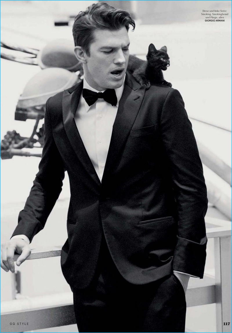 Ashton Kutcher Goes Formal For Gq Style Germany Cover The Fashionisto