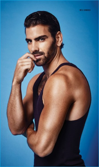 Nyle Dimarco Covers Attitude Rocks Denim Amp Leather The