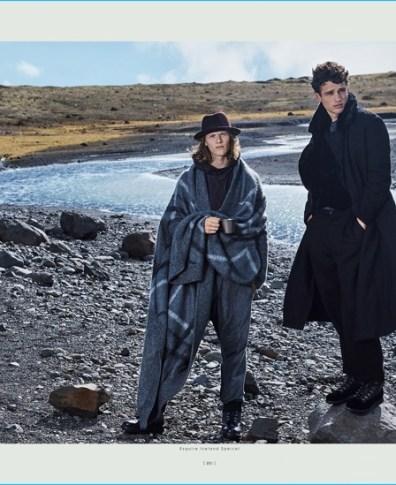 e5c341845 Simon Nessman & Ryan Keating Take to Iceland for Esquire China Story