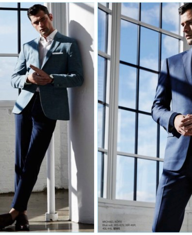 d236eafccfcb Isaac Carew Suits Up in Contemporary Styles for Lord & Taylor | The ...