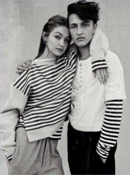 Gigi Anwar Hadid Vogue Photo Shoot