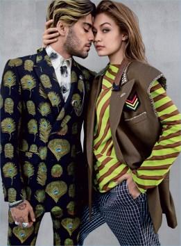 Zayn Malik Gigi Hadid Vogue Photo Shoot