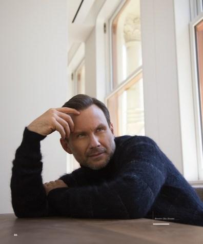 Christian Slater Dons Dior Homme Looks For Haute Living