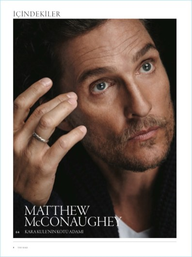 Matthew McConaughey The Rake Title Page
