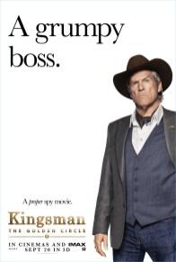 Kingsman The Golden Circle Poster Jeff Bridges Agent Champagne Style
