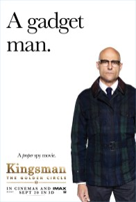 Kingsman The Golden Circle Poster Mark Strong Merlin Style