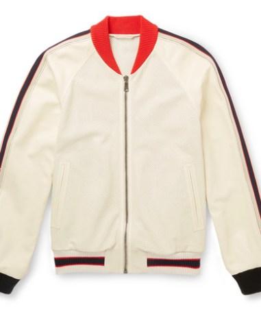 06d2ce040 Gucci – Reversible Appliquéd Satin-Jacquard Bomber Jacket – Men ...