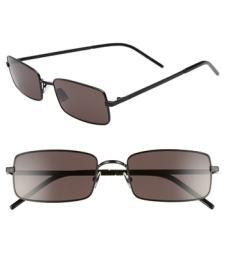 8afb7e5b81e6f Men s Saint Laurent Sl 210 f 56Mm Round Aviator Sunglasses –