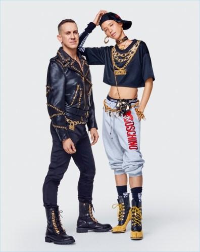 Moschino [tv] H&M Men's Collection Lookbook | The Fashionisto