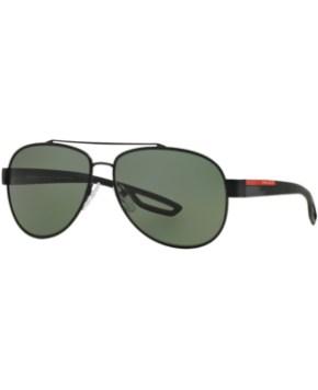 986f8b97b17e7 Prada Linea Rossa Polarized Sunglasses