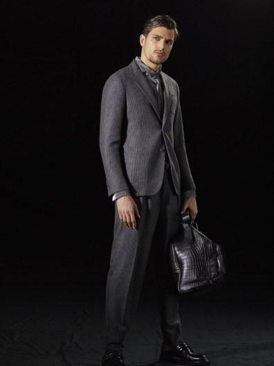 Giorgio Armani Fall 2018 Men S Collection The Fashionisto