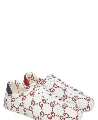 cf16d7ec67938 Men s Gucci New Ace Graffiti Loved Sneaker