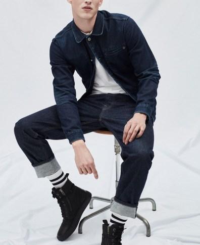 ca2e83907af Malthe Lund Madsen Rocks Raw Denim for Pepe Jeans