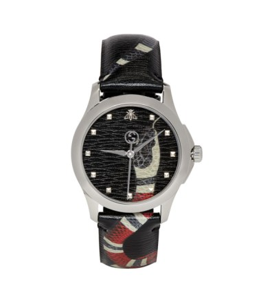 bbe9f07a1fa Gucci – G-Timeless Snake-Dial 38mm Stainless Steel Watch – Men ...