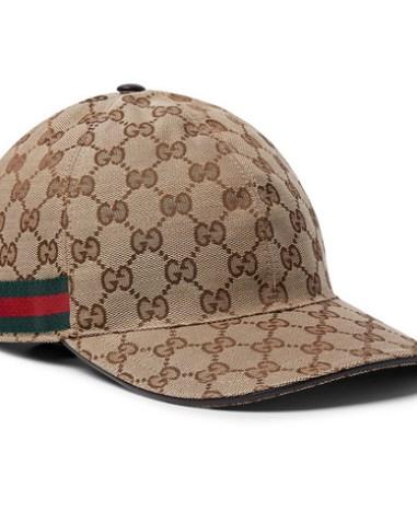 cc61adfac6d Gucci – Logo-Print Linen and Cotton-Blend Canvas Baseball Cap – Men ...