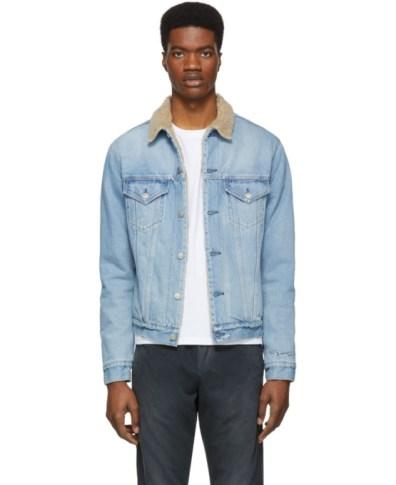 ff9897a5d John Elliott Indigo Denim Thumper Type III Jacket | The Fashionisto