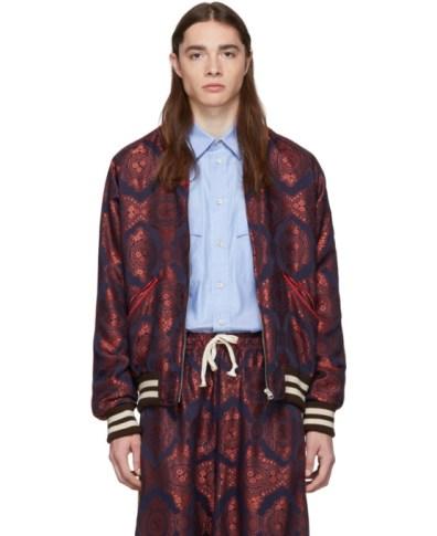 7683ab872 Gucci Green Silk Mermaid Bomber Jacket | The Fashionisto