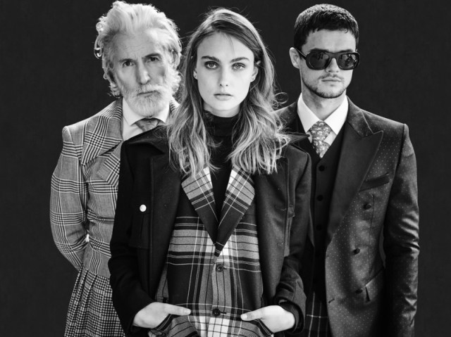 Fashionisto Exclusive: Aiden Brady, Erin Heart, and Christian Williams photographed by John Rowley