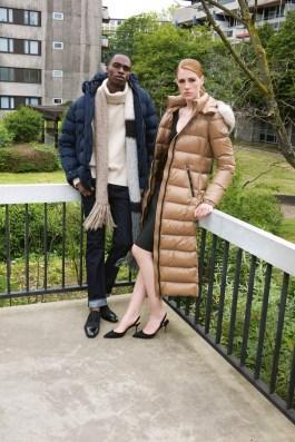 APROPOS-Journal-2019-Brutal-Elegance-Moncler coat + Alice + Olivia body + Stouls skirt + Manolo shoes + Ahirain jacket + Extreme Cashmere jumper + Dior jeans + Allude scarf + Loubou shoes