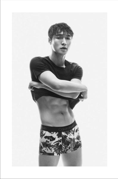 Lay Zhang Abs 2019 Calvin Klein Underwear Campaign