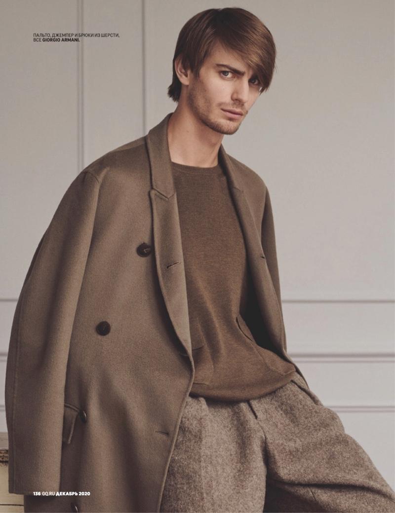 Ben, Jacey + More Model Designer Looks for GQ Russia