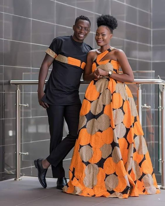 Over 50 Stylish Kitenge Designs For Couples The Fashion Parlour