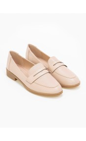Basic loafers με άνετη σόλα - Nude