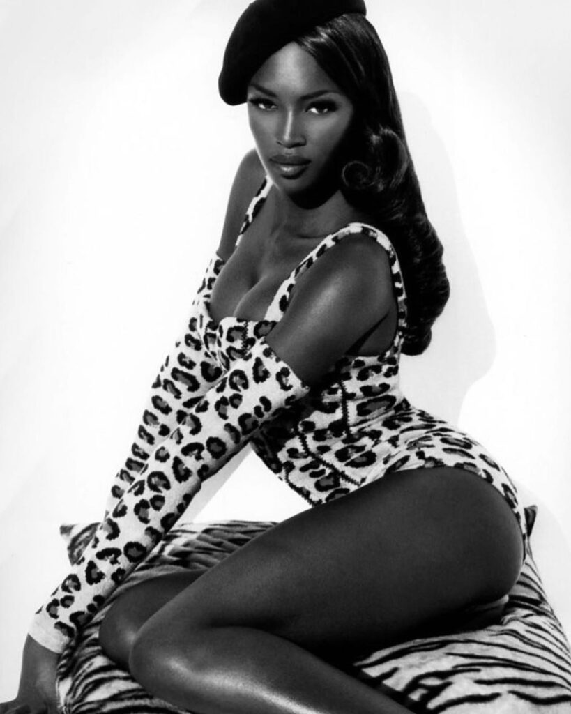 The Best Celebrity Halloween Costumes Naomi Campbell