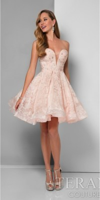 Look fabulous and classy with short prom dress ...