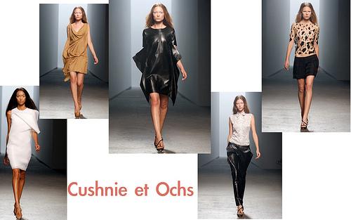 Cushnie et Ochs Spring 2011