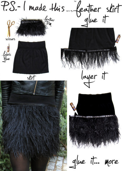 PS I Made This Feather Skirt